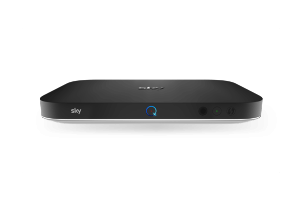 A Sky Q streaming device.